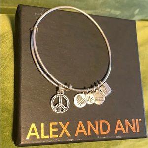 ALEX AND ANI  world peace bangle